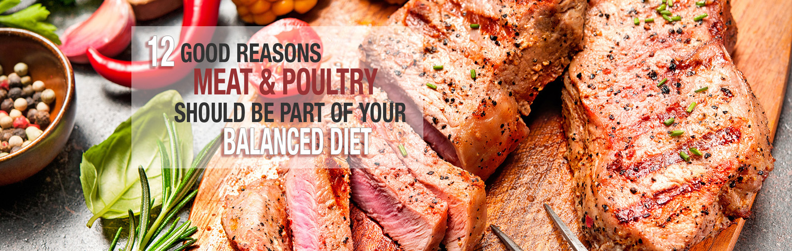 12 Good Reasons Meat and Poultry Should be Part of Your Balanced diet.