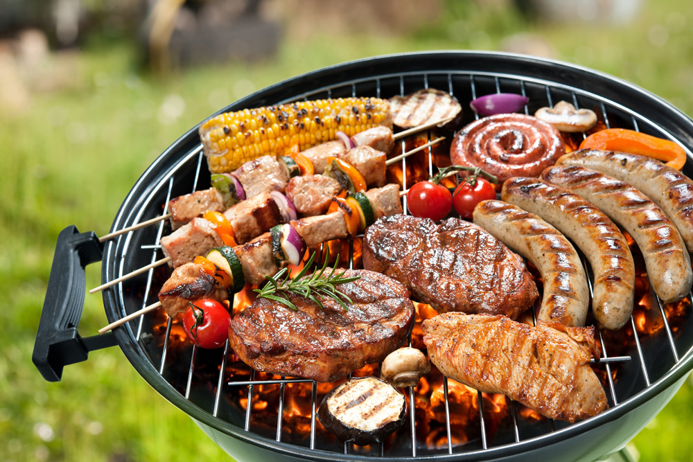 grilling meat and poultry